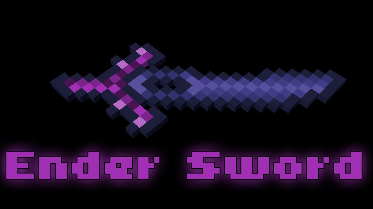 ender sword minecraft animation youtube