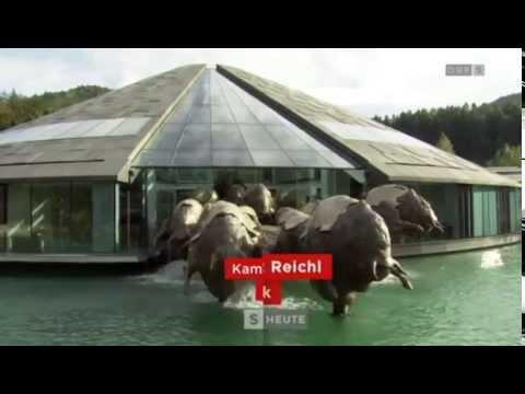 Salzburg heute - Architektur Red Bull Zentrale