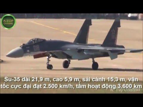 10 máy bay chiến đấu làm nên tên tuổi Sukhoi