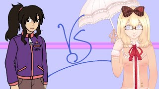 【UTAUBattles round 1, blue team】 And then you became the moon【 Machigaune Eiki VS Sokaina Rizu】