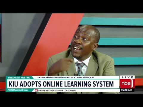 KIU adopts online learning system | NBS Breakfast meeting