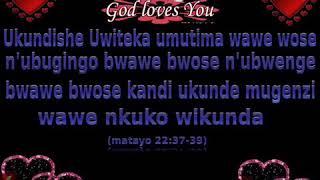 Mbeg' urukundo rw'imana yacu