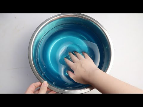 how to make jumbo watery clear slime super jiggly diy. Black Bedroom Furniture Sets. Home Design Ideas