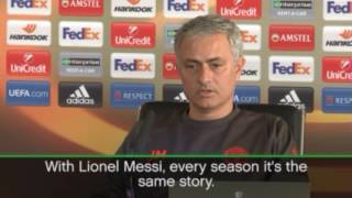 Mourinho wants Messi to never leave Barcelona