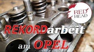 Opel Rekord C | Wiederbelebung eines 2.0 CIH Zylinderkopfes für die Straße