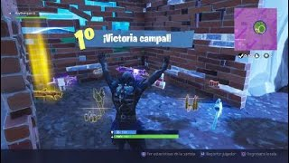 "VICTORY WITH THE NEW LEGENDARY SKIN ""THE BODY"" Fortnite: Battle Royale"