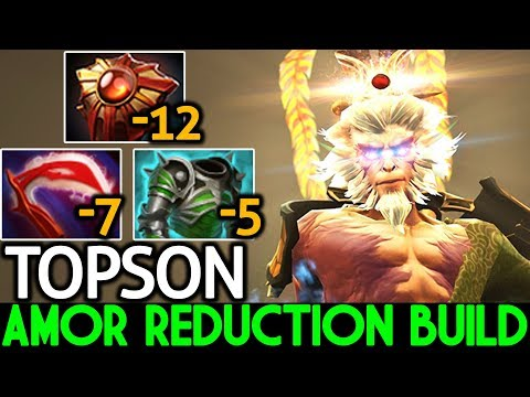 TOPSON [Monkey King] Pro Mid Lane with Amor Reduction Build