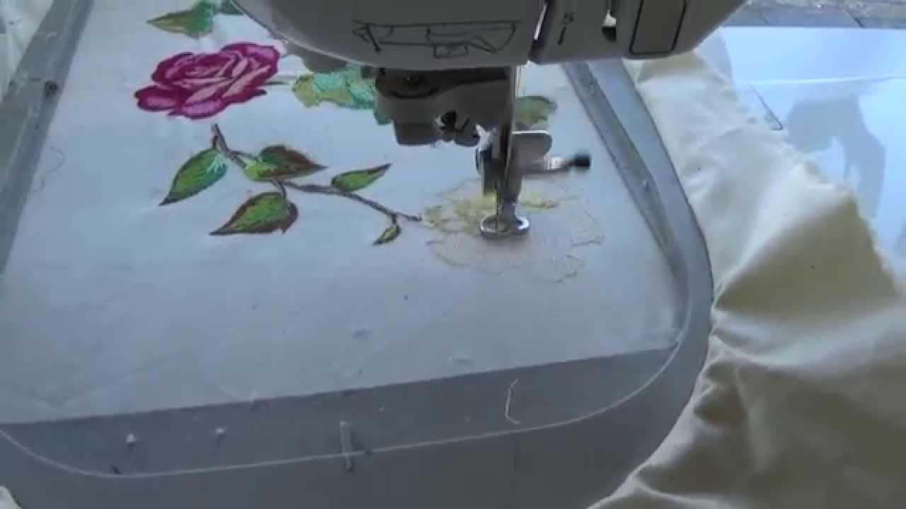 Bordar A Maquina De Coser Brother Innovis 1500