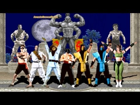 Mortal Kombat 1 Intro All Characters Prologues and Endings