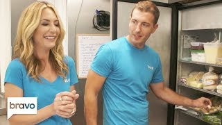 Kate Chastain & Kevin Dobson Take You Inside Valor's Fridges and Pantry | Below Deck | Bravo