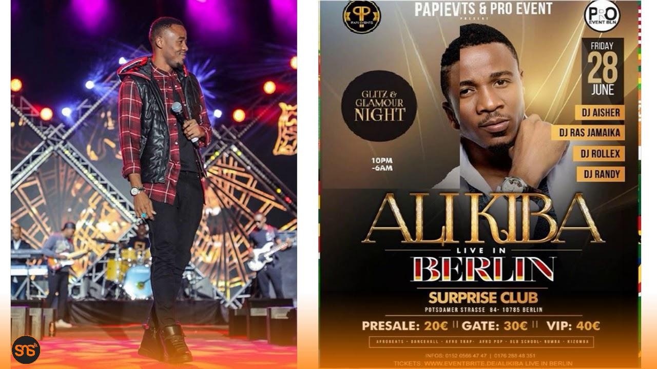 Download Alikiba apagawisha Mashabiki baada ya kutangaza Show yake ya ujerumani