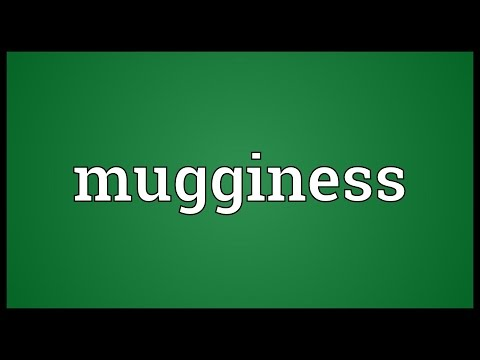 Header of mugginess