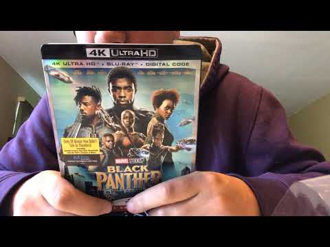 Black Panther 4K Ultra HD Blu-Ray Unboxing