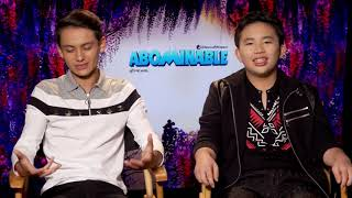 Albert Tsai & Tenzing Norgay Interview: Abominable