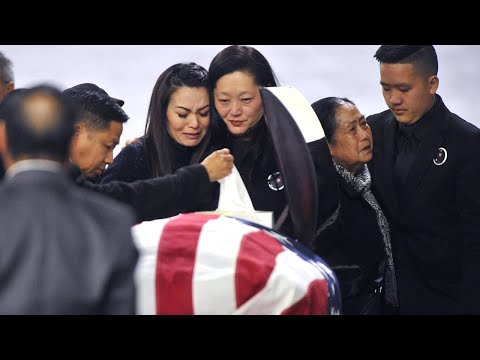 Funeral Services For Fresno Police Officer Phia Vang