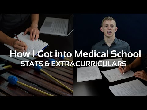 How I got in to Medical School: My Application (Stats, ECs