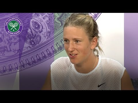 Victoria Azarenka Wimbledon 2017 second round press conference