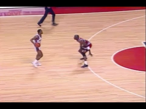 Michael Jordan Defense on Isiah Thomas - 1989 ECF Game 5