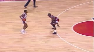 Michael Jordan Defense on Isiah Thomas - 1989 ECF Game 5
