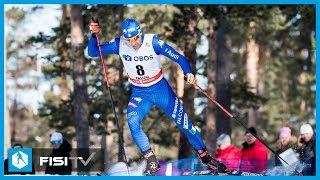 Federico Pellegrino 2° nell'ultima Sprint a Falun