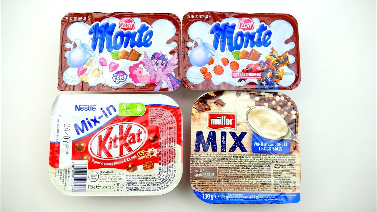 German Sweets | Nestle Kit Kat, Monte MLP and Transformers Dessert
