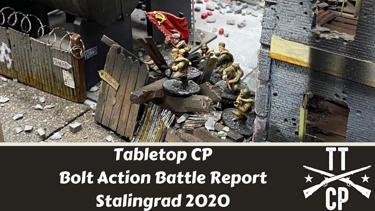 Tabletop CP: Bolt Action Battle Report- Stalingrad 2020