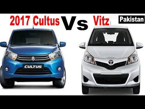 suzuki-cultus-2017-vs-toyota-vitz-2014-|-pakistan