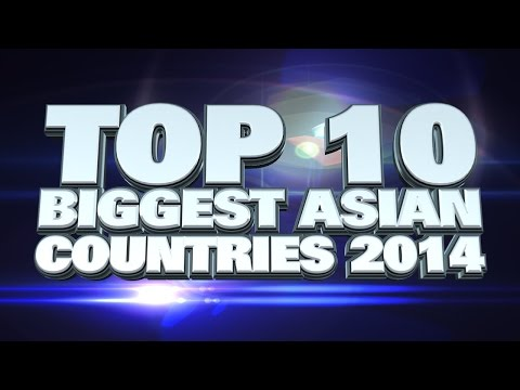 10 Biggest Countries in Asia
