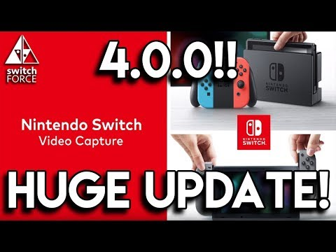 HUGE SWITCH UPDATE! VIDEO CAPTURE, SAVE TRANSFERS, NEW ICONS + MORE!!