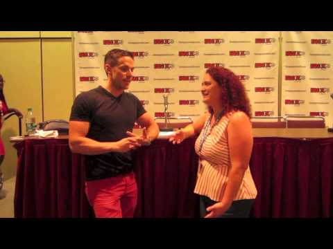 An  with Orphan Black's Dylan Bruce