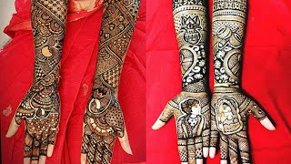 Braidal Full Hand Mehandi Designs Collection.