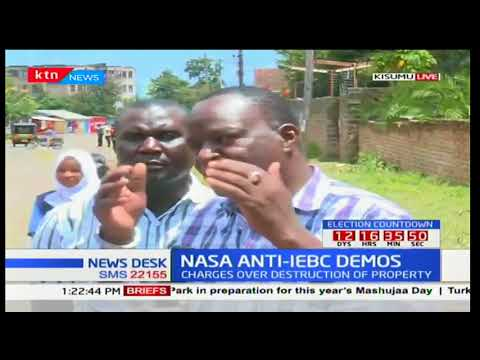 Chaotic scenes in Kisumu with police and NASA supporters in running battles