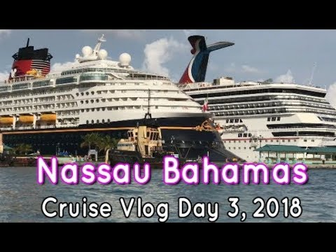 Carnival Liberty Cruise Vlog Day 3 Nassau Bahamas 2018 Jet Boat Excursion