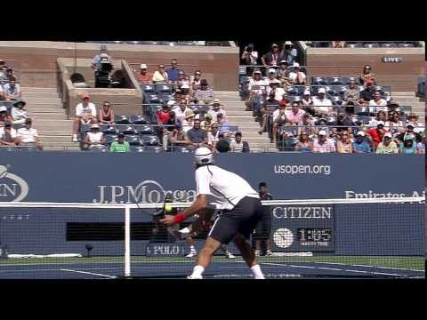 ATP 2012 US Open SF Djokovic vs Ferrer Part2