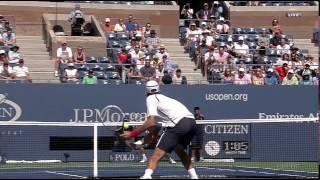 ATP 2012 US Open SF Djokovic vs Ferrer Part2