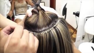 MEGAHAIR NO MICRO PONTO ARABESKO-VIDEO AULA COMPACTA   ESPAÇO BELEZA TOTAL
