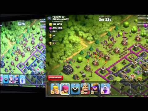Clash of Clans - Advanced Deployment Tactics [Part 1] (Best Strategy)