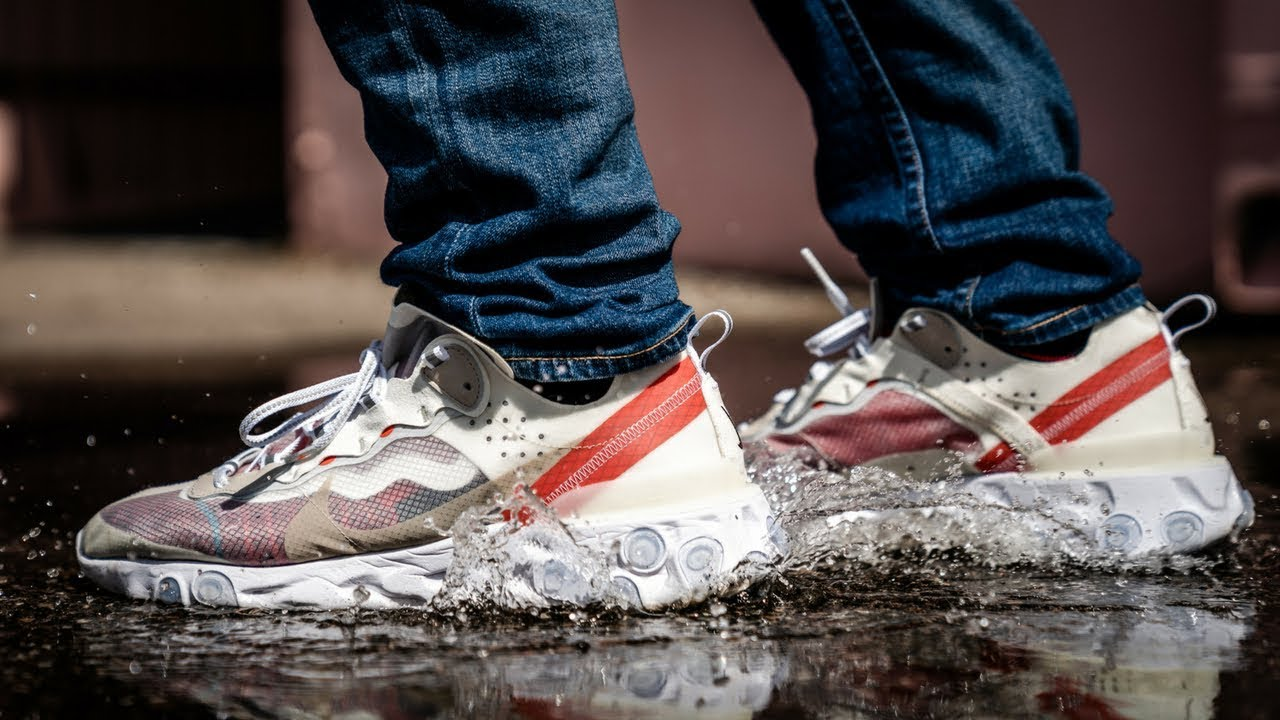 26dd953e5c6f NIKE REACT ELEMENT 87 DURABILITY TEST! WILL THEY LAST ! - YouTube
