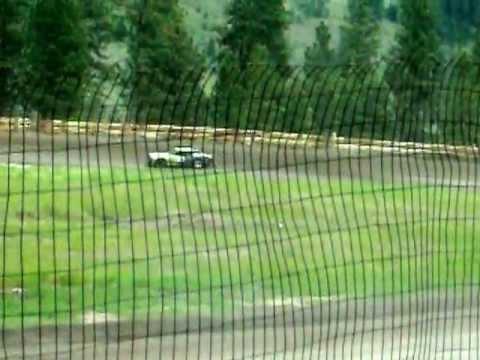 Eagle Track Raceway Street Stock/Modified Heat Race (Wally Clough Crash) June 22nd 2013