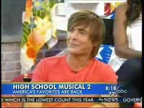 High School Musical 2 on GMA Part 1