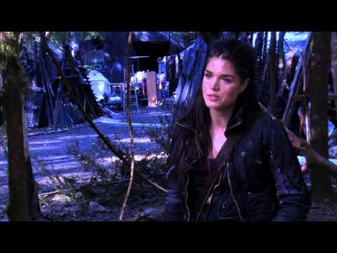 The 100's author Kass Morgan interviews Marie Avgeropoulos