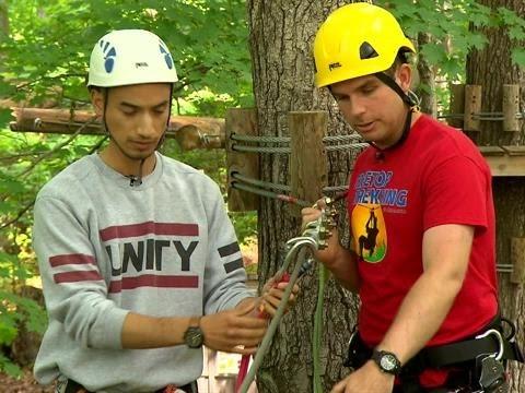Treetop Trekking Beginner Course