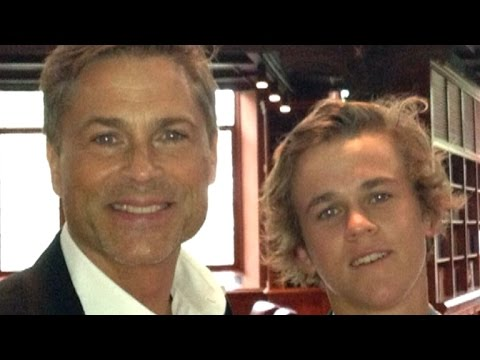rob lowe 39 s son is all grown up and starring on his new. Black Bedroom Furniture Sets. Home Design Ideas