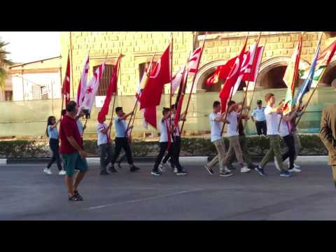 Cyprus parade north Cyprus 20th july
