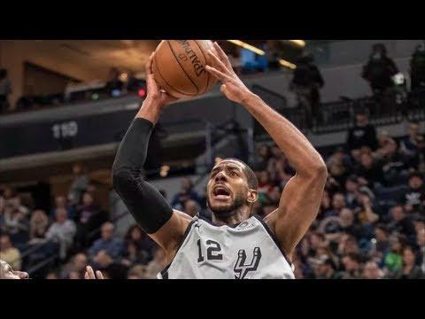 No DeRozan, Spurs Edge T-Wolves in the Clutch! 2018-19 NBA Season