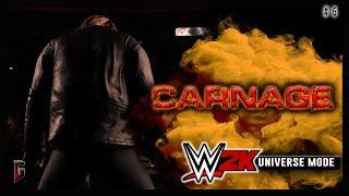 "WWE 2K - Universe Mode - WWE Carnage #6 - ""A New Mission"" (223)"