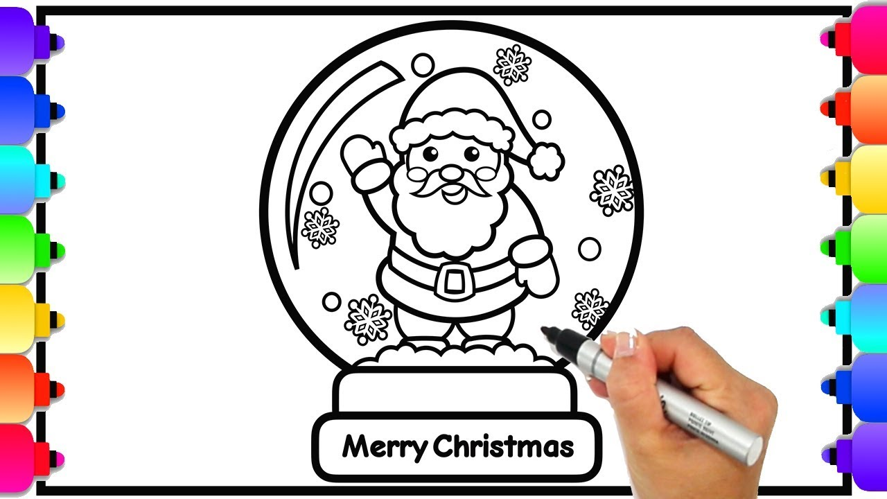 Snowglobe Coloring Pages - Best Coloring Pages For Kids | 720x1280