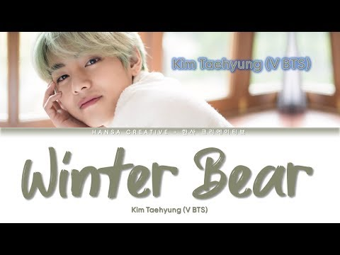 Kim Taehyung V BTS - Winter Bear  Color Coded Eng