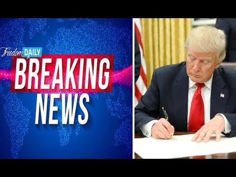 BREAKING NEWS! TRUMP JUST DECLARED A NATIONAL EMERGENCY!