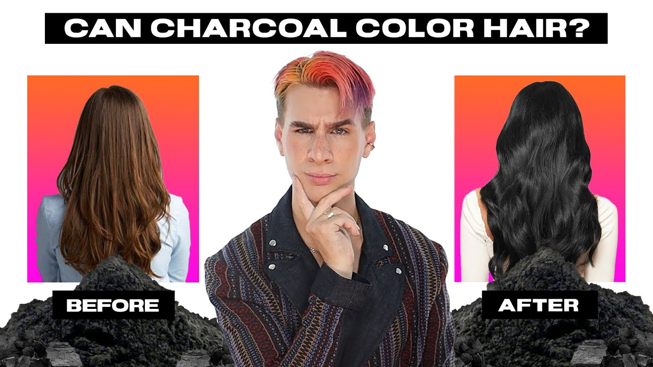 Can Charcoal Make Your Hair Healthier AND Color It?